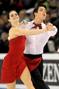 Tessa Virtue and Scott Moir of Canada - 2010 Olympic Ice Dance Champions - Photo by Matthew Stockman - Getty Images
