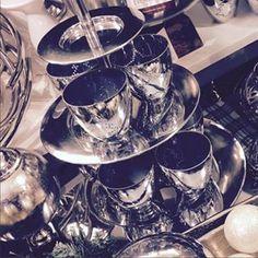 #christmas #decoration #interior #silver #reflectiveness #christmastree #stars #pier3wohnideen