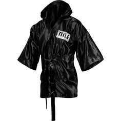 55d0a016ce Amazon.com   TITLE Boxing 3 4 Length Stock Satin Robe   Boxing Jerseys    Sports   Outdoors