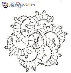 Flor de crochet original