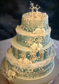 winter anniverary cakes - Google Search