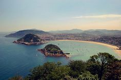 Donostia-San Sebastián (mini Rio de Janeiro) Best place on the planet for pinxos and of course washed down with patxaran!