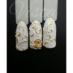 jadina_takaja | User Profile | Instagrin 3d Nails, Cute Nails, Nail Atelier, Indian Nails, Vintage Nails, Bridal Nail Art, Nails Only, Manicure E Pedicure, Flower Nail Art