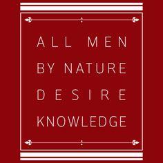 Ajin - All men by nature desire knowledge - NeatoShop