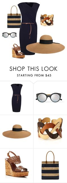 """""""working summer"""" by polona-mivsek on Polyvore featuring James Lakeland, Illesteva, Eugenia Kim, Tory Burch and APOLIS"""