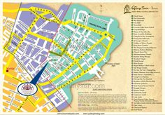 Side tourist map Maps Pinterest Tourist map and City