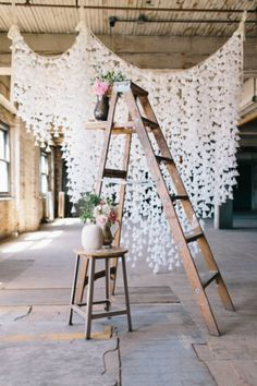 backdrop (cones, but i think coffee filters would work great) #WishBigWinBigGiveaway #Wedding #Registry