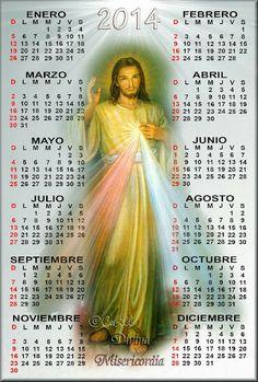 GIFS DE CALENDARIOS: Calendario de la Divina Misericordia 2014