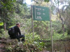 Stop at the Frog Pond in  Cat ba National Park,Viet nam