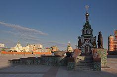 Памятник Петру и Февронье. Йошкар-Ола