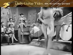 Tiny Grimes - Never Too Old To Swing - http://dailyvideo.guitars/tiny-grimes-never-too-old-to-swing/ - Tiny Grimes on the 4-string tenor guitar circa 1950s.