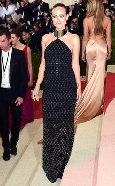 Olivia Wilde from Met Gala 2016: Red Carpet Arrivals  In Michael Kors Collection