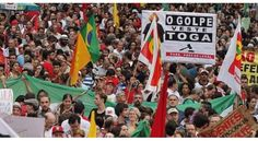 Humanity Against the Coup in Brazil has said that the government of Michel Temer is illegitimate, and calls on UNASUR to suspend the coup against Dilma.