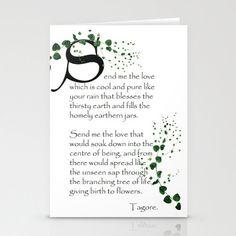 Greetings Card, Hand made Artist's card