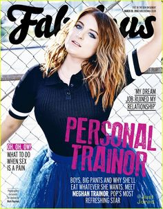 Meghan Trainor Covers 'Fabulous' Magazine This Weekend; New Sketchers Pics Debut!: Photo #943287. Meghan Trainor leans up against a chain link fence on this weekend's cover of Fabulous magazine.