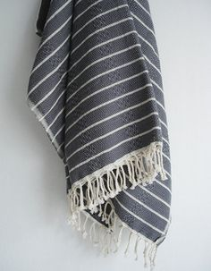 Turkish Bath Peshtemal Towel - Mediterranean - Towels - Etsy
