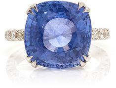 Maria Jose Jewelry 18K Gold, Sapphire And Diamond Ring