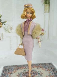 Mum's Mums OOAK Fall Fashion for Silkstone Barbie by Joby Originals. Please visit my Mum's Mums board for more pic's