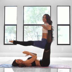 poses acro poses advanced poses back pain poses flexibil. Couples Yoga Poses, Acro Yoga Poses, Partner Yoga Poses, Three Person Yoga Poses, 2 Person Yoga, Couple Yoga, Yoga For Two, Yoga Poses For Two, Yoga Pictures