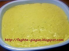 Τα φαγητά της γιαγιάς - Μακαρονόπιτα χωριάτικη Pudding, Desserts, Blog, Tailgate Desserts, Deserts, Custard Pudding, Puddings, Postres, Blogging
