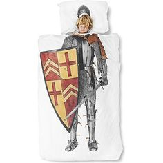 Snurk Knight Duvet Cover, Twin