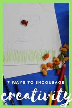 Simple Activities That Encourage Creativity in Kids #ad #goldfishtales