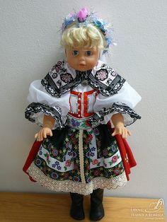 Krojovaná panenka - kyjovský kroj