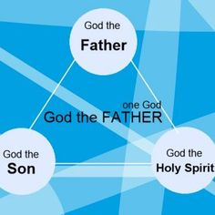God the Father, God the Son and God the Holy spirit are one God, Father.