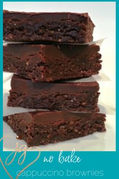 Get this recipe is a raw brownie which uses easy-to-find ingredients from your local supermarket. The brownies are gluten free (perfect for Pesach! Passover Desserts, Raw Brownies, Ganache Frosting, Cocoa Cinnamon, Dried Cherries, Syrup, Gluten Free Recipes, Glutenfree, A Food