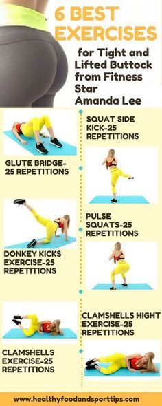6 Best Exercises for Tight and Lifted Buttock from Fitness Star Amanda Lee