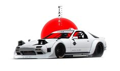 "background Mazda Khyzyl Saleemsimple background Mazda Khyzyl Saleem Classic Cars Reimagined in a Bosozoku Future Skyline GT-R engine"" Posters by SimpleWayDesign Tuner Cars, Jdm Cars, Mazda, Drifting Cars, Car Illustration, Japan Cars, Car Drawings, Modified Cars, Sport Cars"