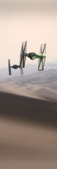 Imperial Tie Fighters, from 'Star Wars: Episode VII - The Force Awakens' teaser trailer...