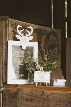 Photography: Catherine Mombourquette Photography - thatdragonflysmiled.com/  Read More: http://www.stylemepretty.com/canada-weddings/2015/01/20/rustic-elegant-ontario-barn-wedding/