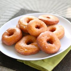 These sweet potato doughnuts are made completely from scratch - it's the perfect way to sneak some sweet potatoes into your favorite sweet breakfast!