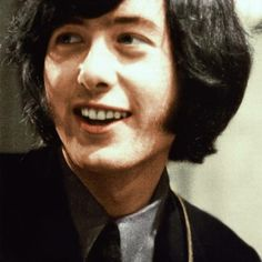 Yardbirds ... Jimmy Page<-I have not seen this colorized. Love it