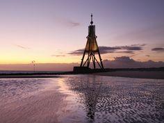 Kugelbake - das Wahrzeichen von #Cuxhaven  © Magica - Fotolia.com