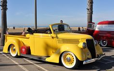 1936 Ford roadster pickup.