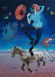 Scherzo Ma Non Troppo (2009)  130 x 89 cm Myrtille Henrion Picco