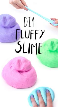 Does your kid like to play with slime? Every kid likes to play with slime. It looks like dirty, sticky slime can keep kids at home for a whole day. Of course, you can easily buy slime in stores, but the price may be expensive. You can DIY slime at ho Diy With Kids, Diy Crafts For Kids, Fun Crafts, Make Slime For Kids, How To Make Slime, Craft Ideas For Girls, Creative Ideas For Kids, Crafts For Toddlers, Easy Diys For Kids