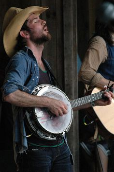 Avett... to be the banjo, that I might feel his fingers play