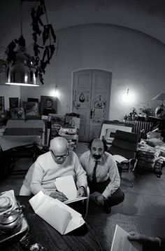 Picasso together with Ara Guler