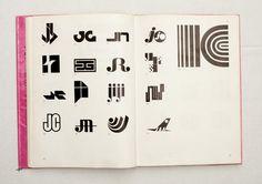 044.jpg (1600×1130)  TRADE MARKS & SIMBOLS Volume 1: Alphabetical Designs | YASABURO KUWAYAMA #logo #design #Inspiration #graphic #shape #best #awesome #typography #best #pactice