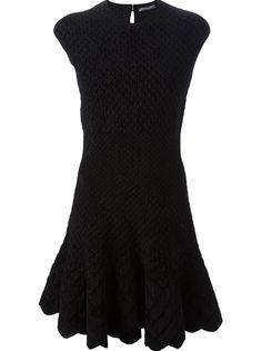 ALEXANDER MCQUEEN Textured Dress