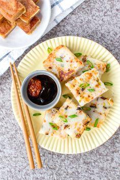 Radish Recipes, Vegan Recipes, Nian Gao Recipe, Daikon Recipe, Rice Cake Recipes, Anti Inflammatory Recipes, Veggies, Vegetarian, Stuffed Peppers