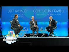 Leadership Conversation: Gen. Colin Powell & GE CEO Jeffery Immelt - #DF12 Keynote