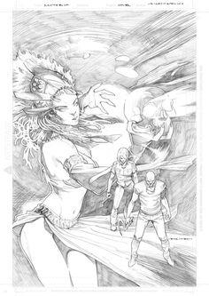 Aspen Comics - Santeria Talent Hunt