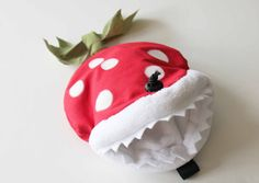 Piranha Plant  Rock Climbing Chalk Bag by AllBeta on Etsy, $50.00