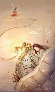 Wishing you a peaceful night ahead! God bless you ML. Ly Wishing you a peaceful night ah Art Mignon, Moon Art, Children's Book Illustration, Stars And Moon, Cute Art, Sweet Dreams, Good Night, Art Girl, Illustrators