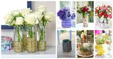 glass vase decor