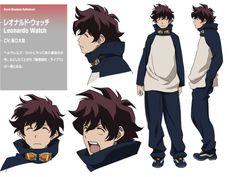 Kekkai Sensen   Blood Blockade Battlefront   Leonardo Watch   Anime   Character Design   SailorMeowMeow